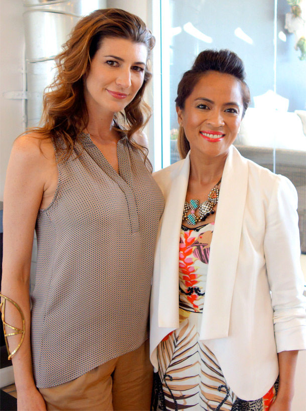 Carisa Janes and me!