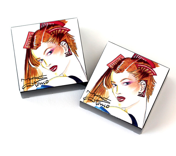 The MAC Antonio Lopez collection Face Palette Boxes