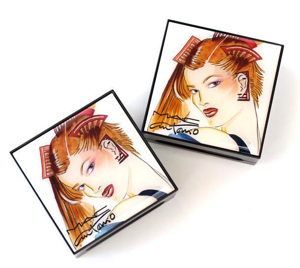The MAC Antonio Lopez collection Face Palette packaging