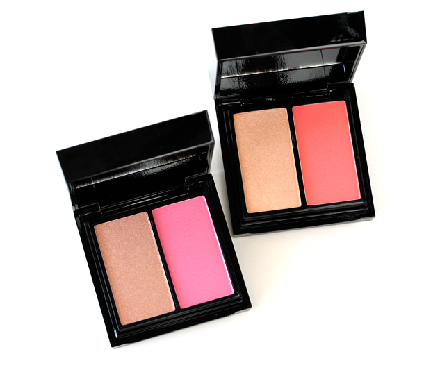 The MAC Antonio Lopez collection Face Palettes: Face/Pink on the left and Face/Coral on the right