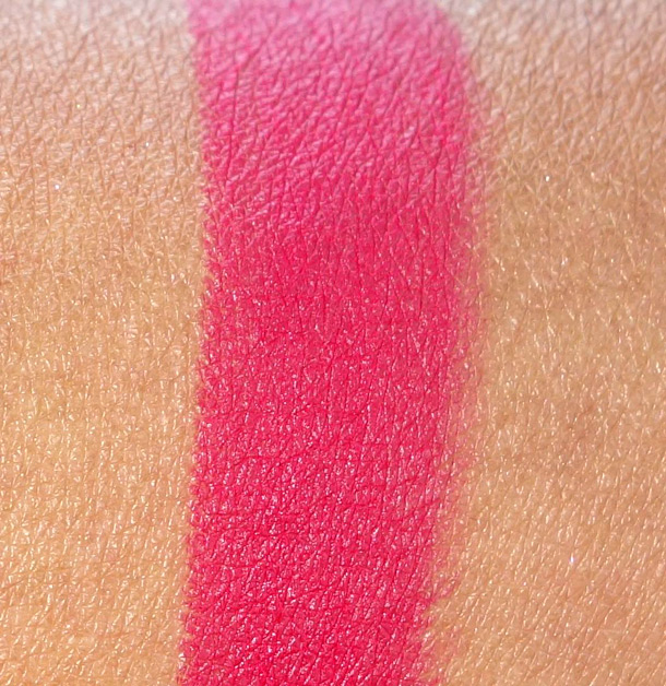 MAC Relentlessly Red Matte Lipstick Swatch