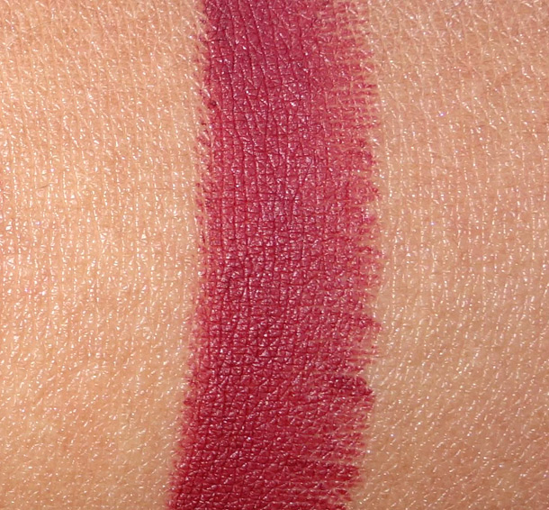 MAC Fixed on Drama Matte Lipstick Swatch