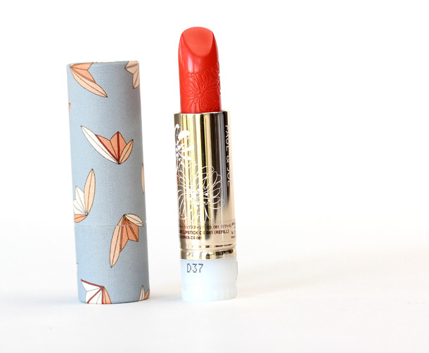 Paul & Joe Autumn 2013: Lipstick Case CS 009 ($5) and Lipstick in Once Upon a Time 081 Refill ($17) on the right