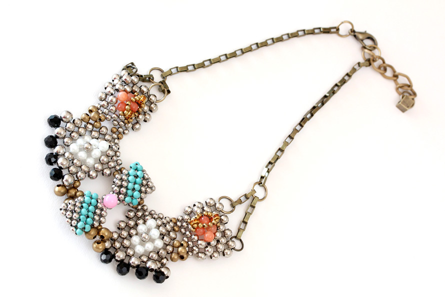 The Anthropologie Pam Hiran Bib Necklace