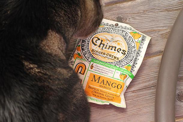 Chimes brand Ginger Mango Chews