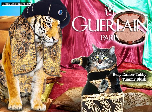 Tabs the Cat for Guerlain Belly Dancer Tummy Blush