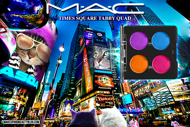 Tabs the Cat for the MAC Times Square Tabby Quad