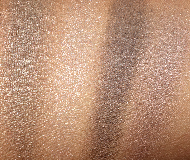 Clarins Forest swatches