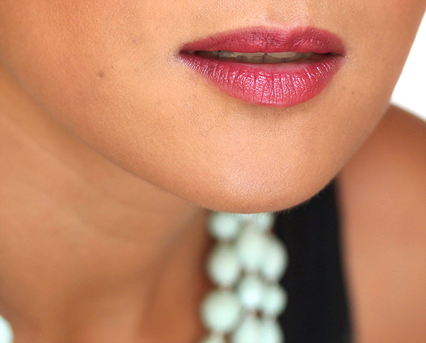 Dolce & Gabbana Classic Cream Lipstick in Ruby, a deep red