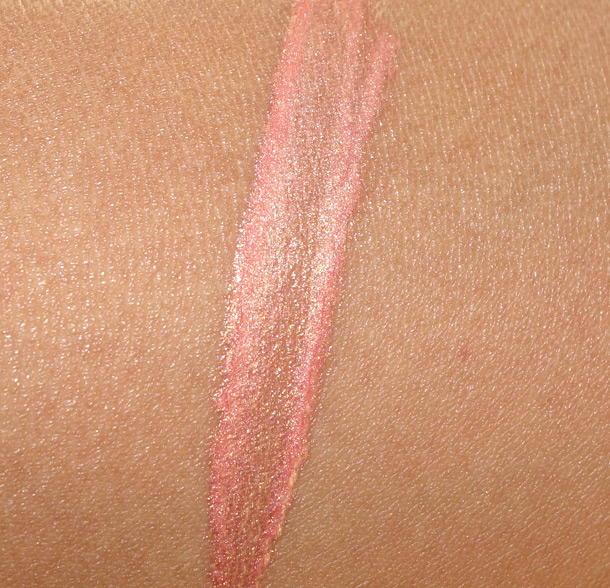 Le Metier de Beaute Papaya Creme Lip Gloss Swatch