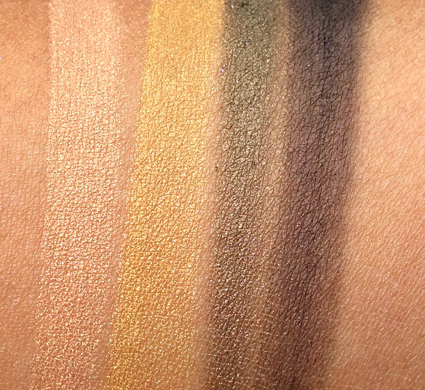 Maybelline Eye Studio in Desert Fantasy Swatches