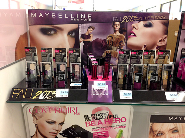 Maybelline Fall 2013 On the Runway