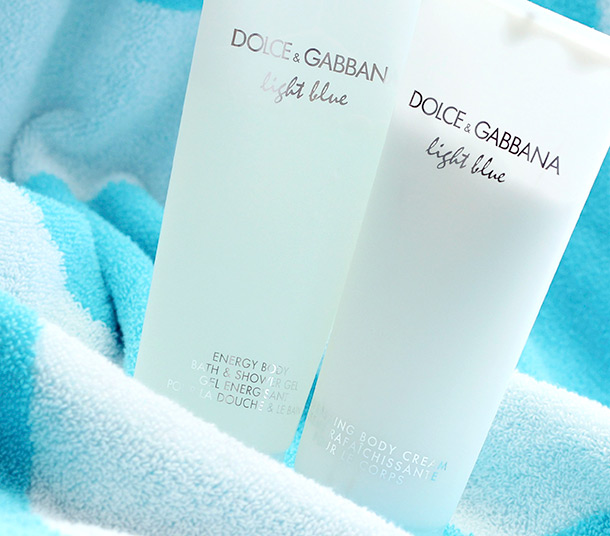 Dolce & Gabbana Light Blue Energy Body Bath & Shower Gel and Refreshing Body Cream
