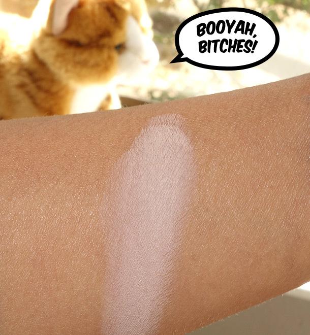MAC Painterly on NC42 skin