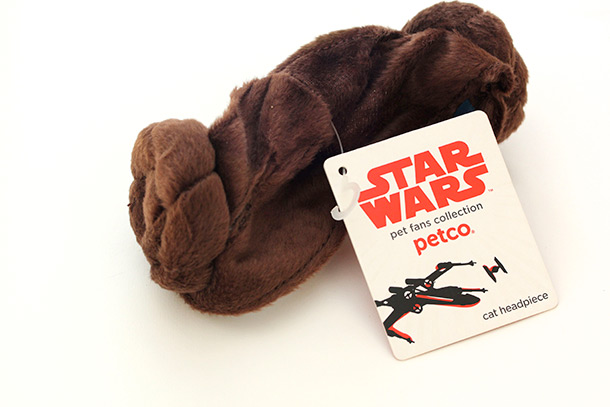 Petco Star Wars Princess Leia Cat Headpiece