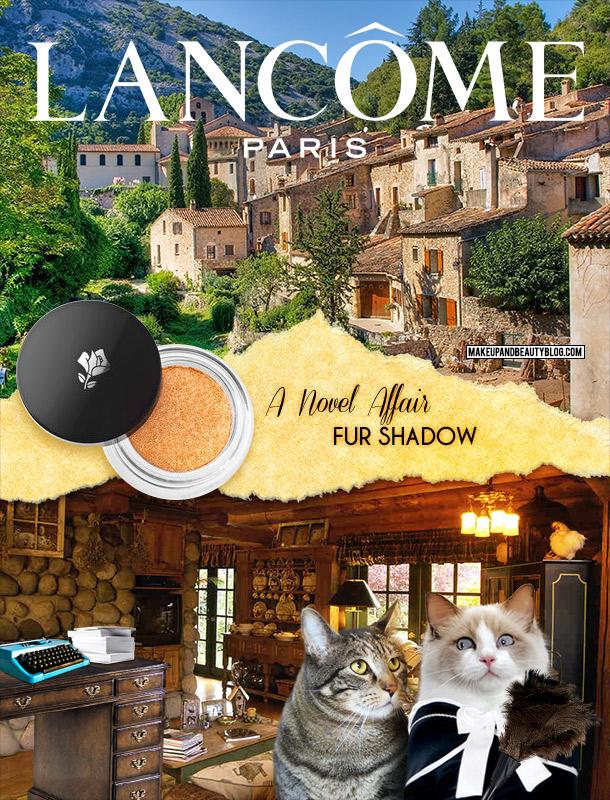 Tabs for the Lancome Novel Affair Fur Shadow