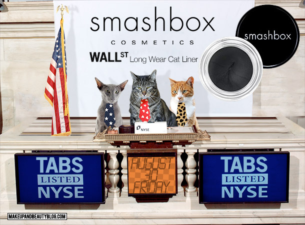 Tabs the Cat for Smashbox Wall Street Long Wear Cat Eyeliner