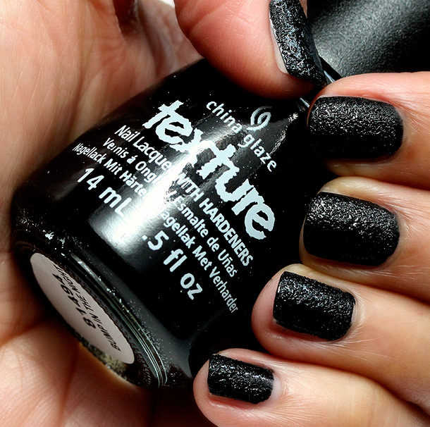 China Glaze Monsters Ball Bump in the Night Swatch