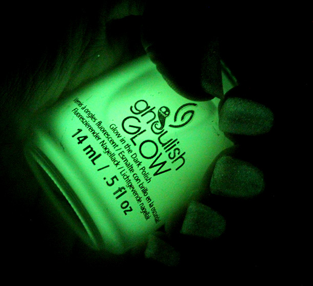 China Glaze Monsters Ball Ghoulish Glow