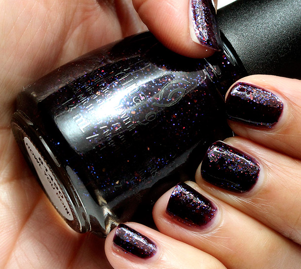 China Glaze Monsters Ball Howl You Doin' Swatch