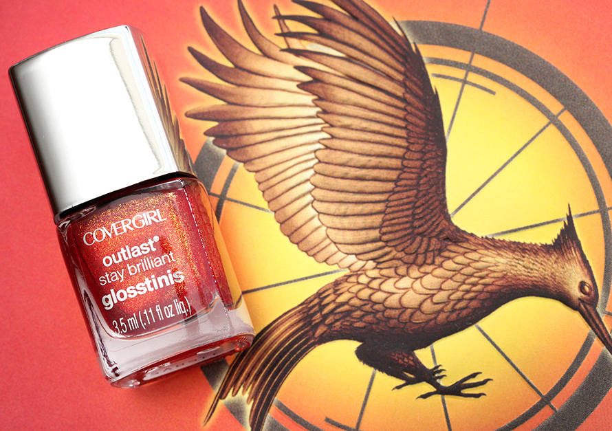 Covergirl Hunger Games Rogue Red Glosstini Nail Polish
