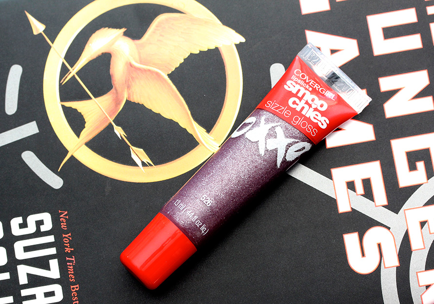 Covergirl Hunger Games Collection: Lipslicks Smoochies Sizzle Gloss in Violet Flare
