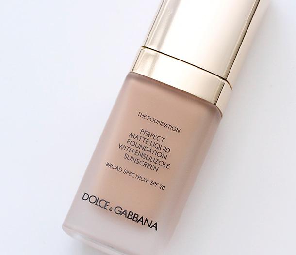 Dolce & Gabbana Warm Rose Liquid Matte Foundation