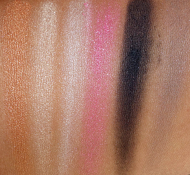 Guerlain Crazy Paris Eye Palette swatch