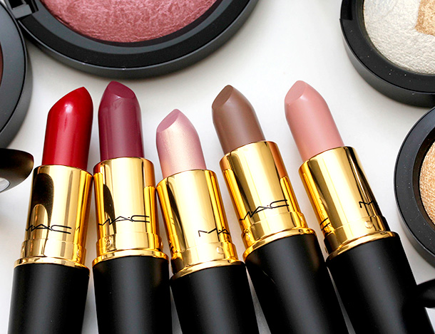 MAC Divine Night Lipsticks