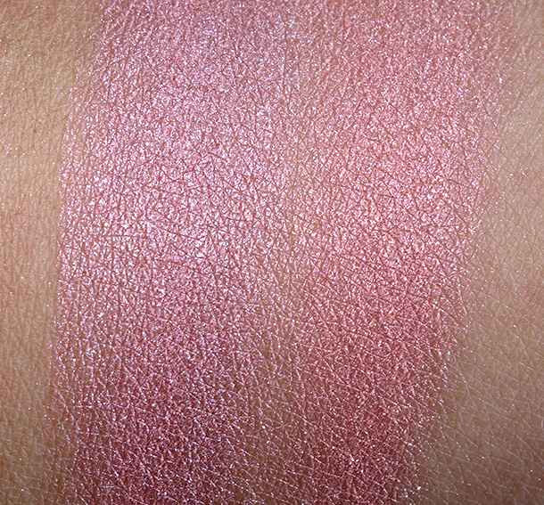 MAC Divine Night Swatches: Mineralize Skinfinish in Scene to Be Seen