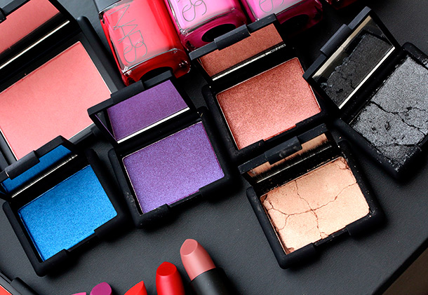 NARS Guy Bourdin Holiday Color Collection Cinematic Eyeshadows
