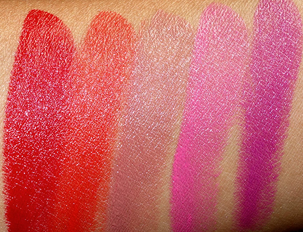 NARS Guy Bourdin Swatches Cinematic Lipsticks