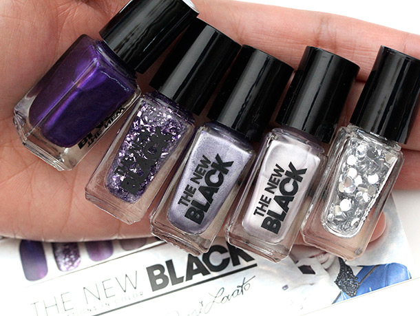 The New Black Demi Lovato Nail Polish: In Love Set