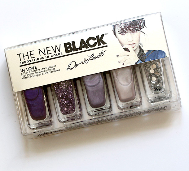 The New Black Demi Lovato Nail Polish