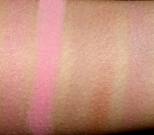 Too Faced A Few of My Favorite Things Swatches