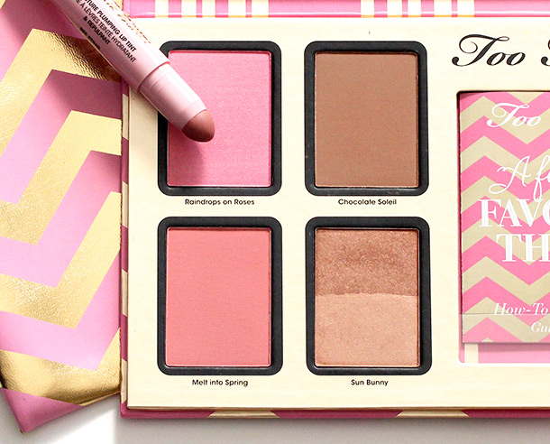 Too Faced A Few of My Favorite Things blushes bronzer