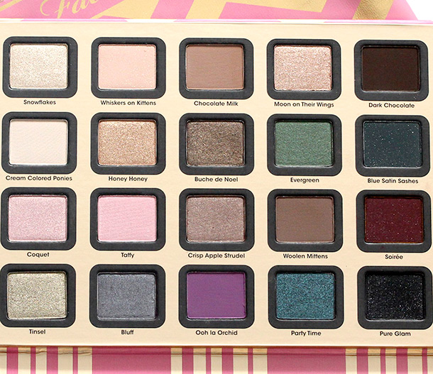 Too Faced A Few of My Favorite Things eyeshadows