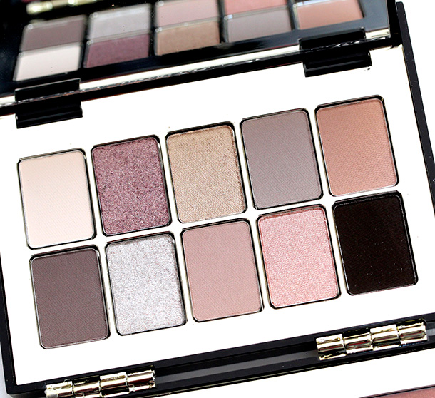 Bobbi Brown Deluxe Lip and Eye Palette eyeshadows