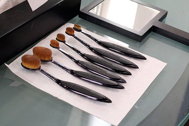 MAC Masterclass Brushes