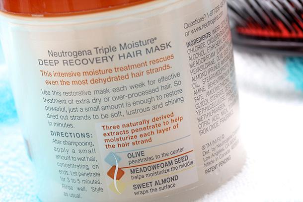 Neutrogena Triple Moisture Deep Recovery Mask