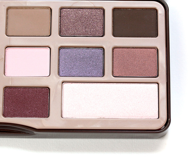 Right half of the Too Faced Chocolate Bar palette