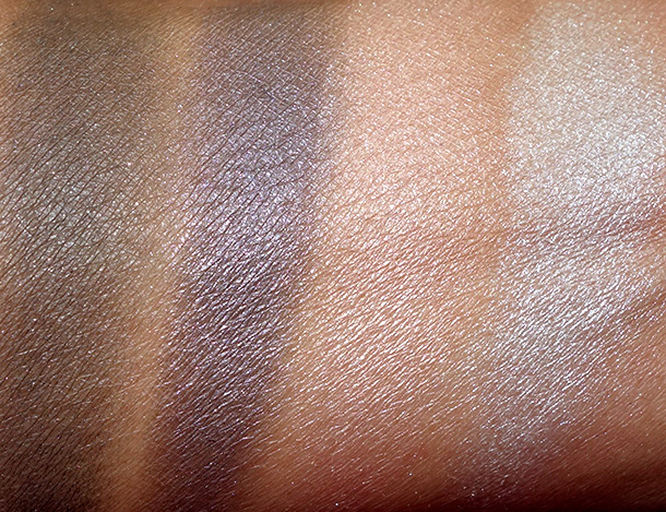 Topshop Smokey Eye Palette in Constellation swatches