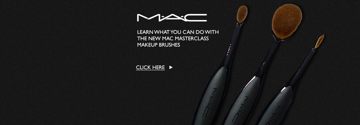How to use the MAC Masterclass Brushes