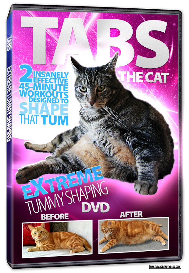 Tabs the Cat for the Feline Fitness DVD, Vol. 1