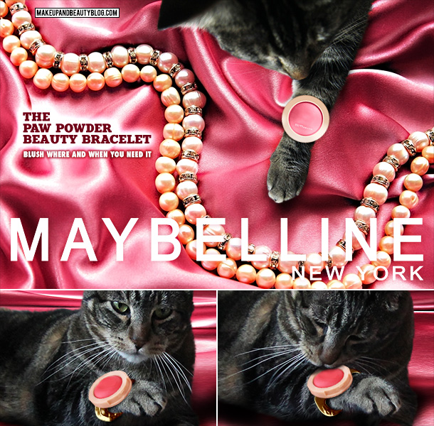 Tabs the Cat for Maybelline Beauty Bracelet Blush