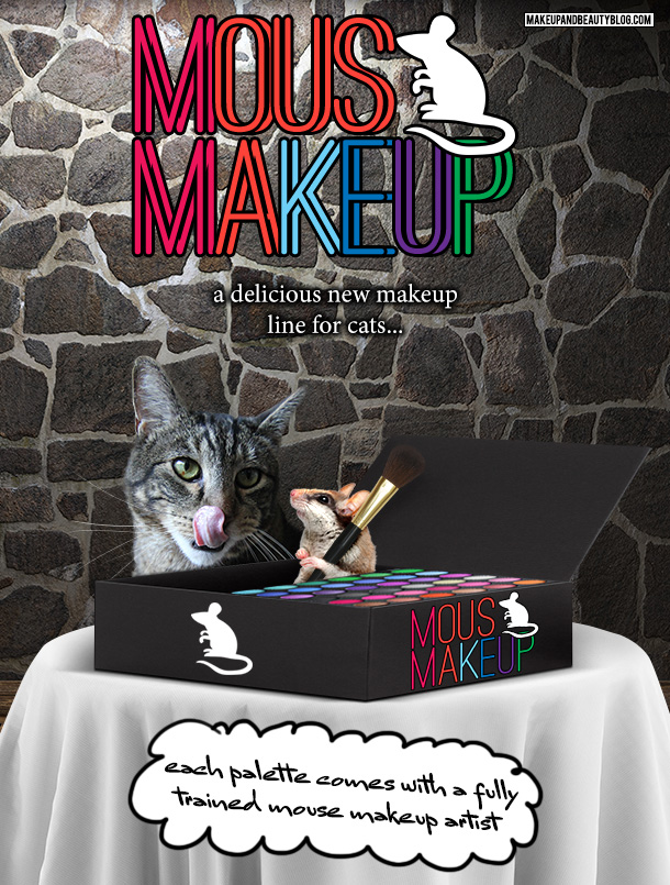 Tabs the Cat for Mousy Makeup Eyeshadow Palettes