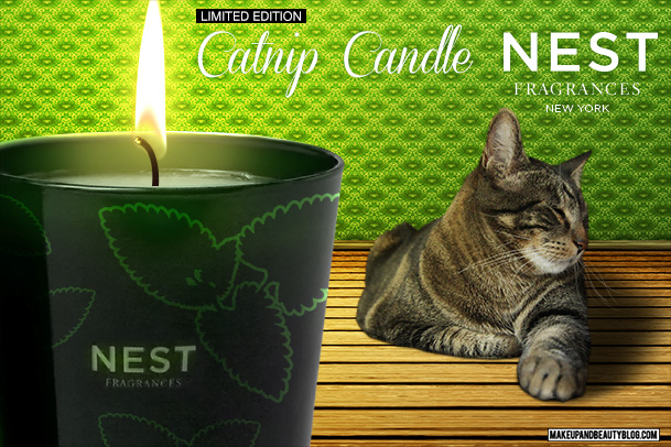 Tabs the Cat for the Nest Fragrances Catnip Scented Candle