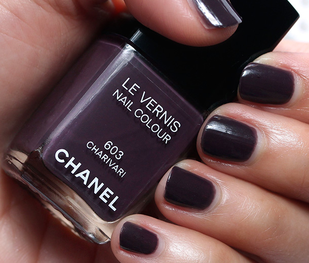 Chanel Charivari Nail Polish Swatch