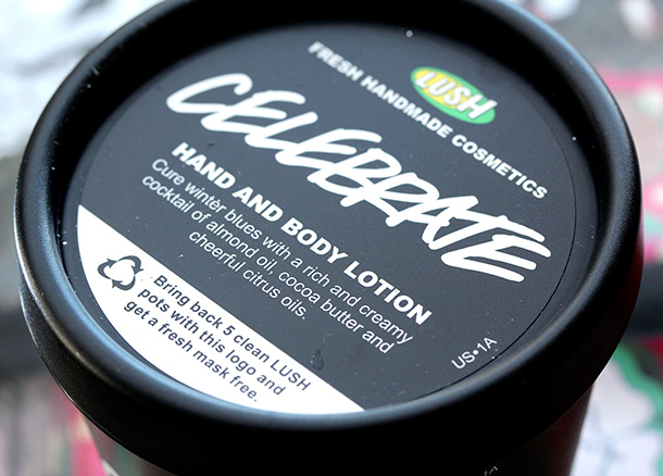 Lush Celebrate Hand and Body Lotion