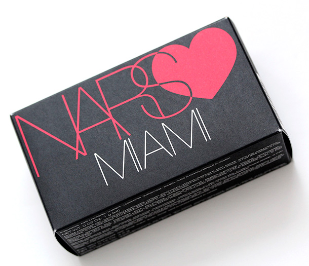 NARS Love Miami box